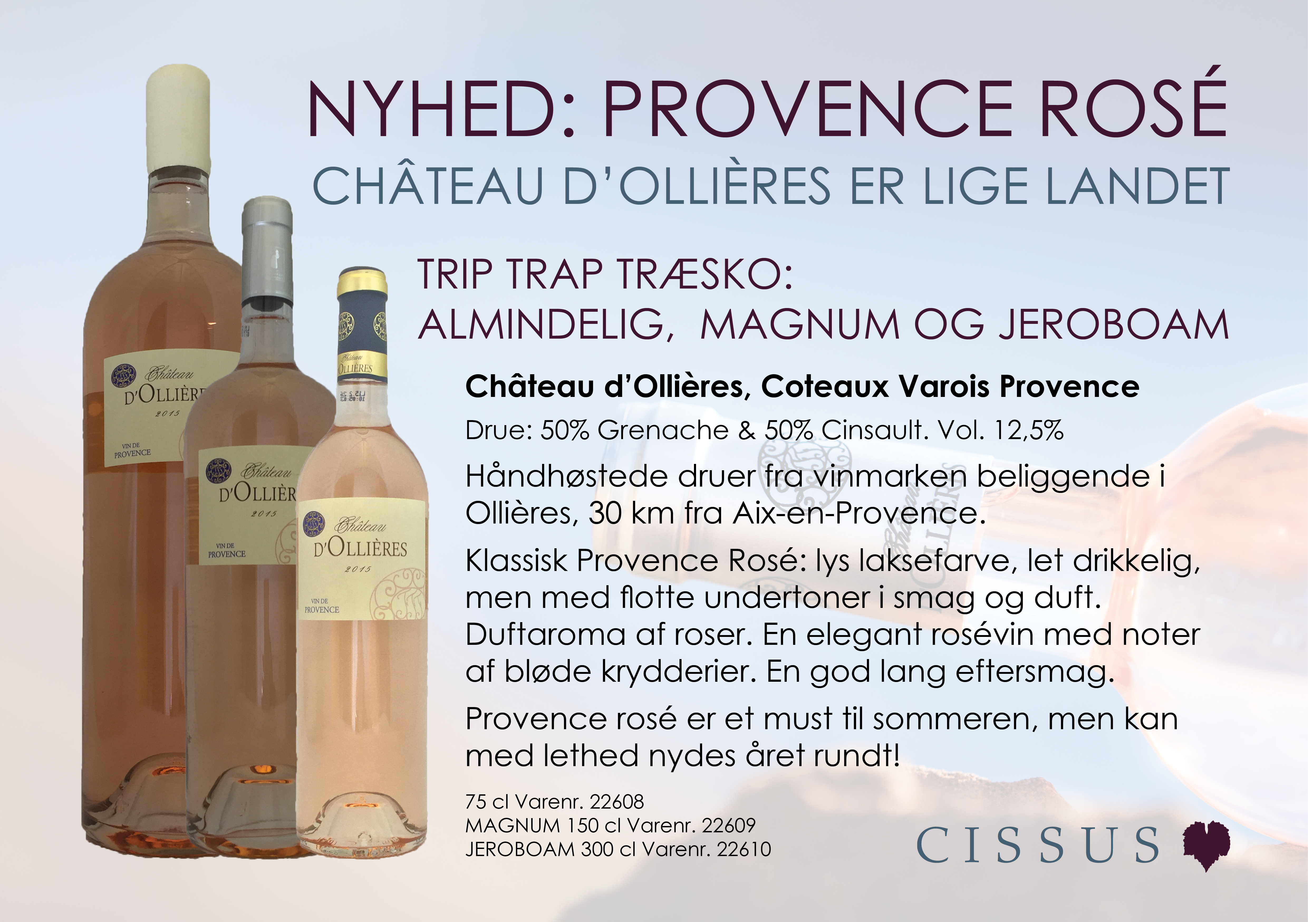 NYHED: Provence Ros�